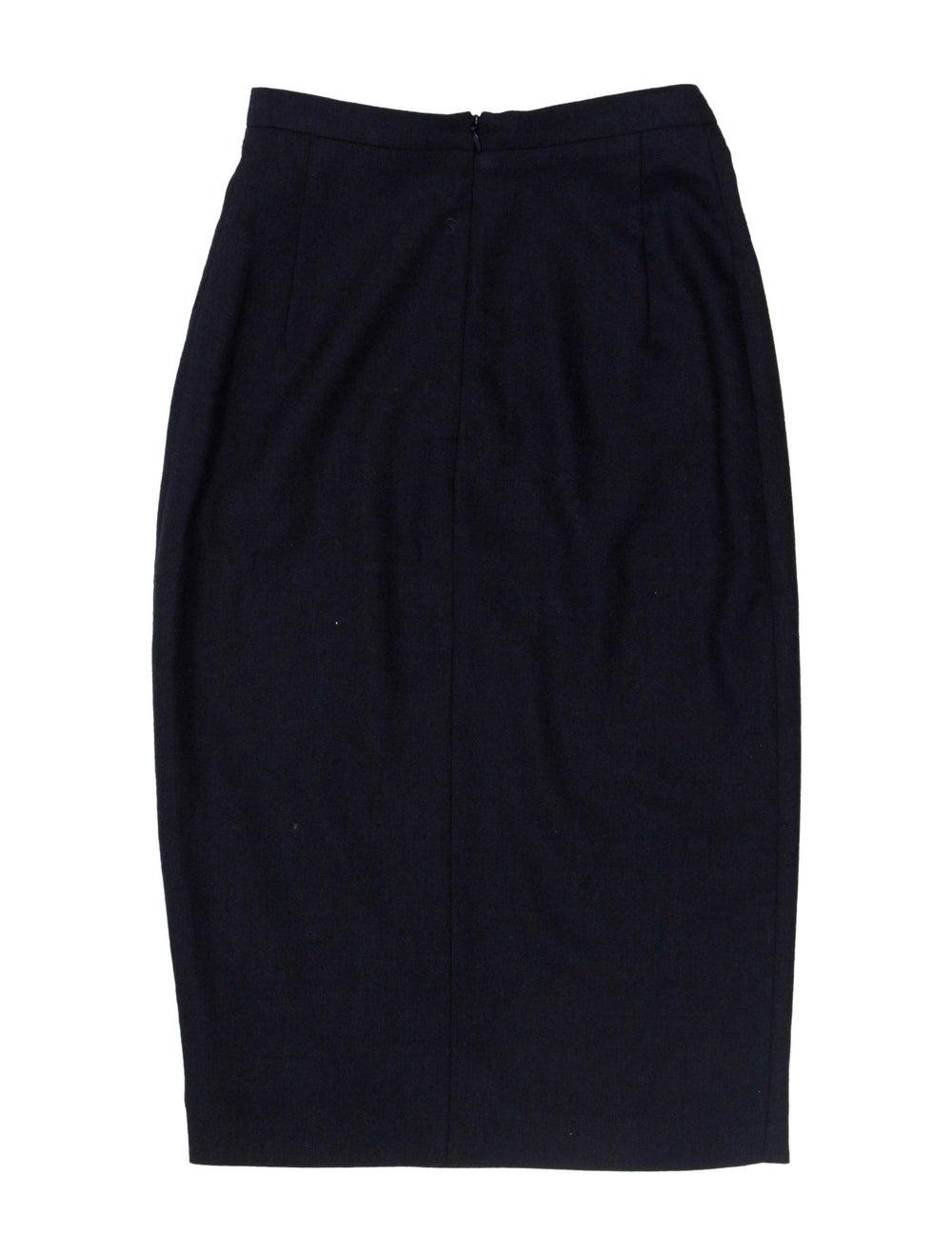Altuzarra Midi Skirt Navy - image 2