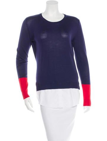 Altuzarra Wool Colorblock Sweater w/ Tags None