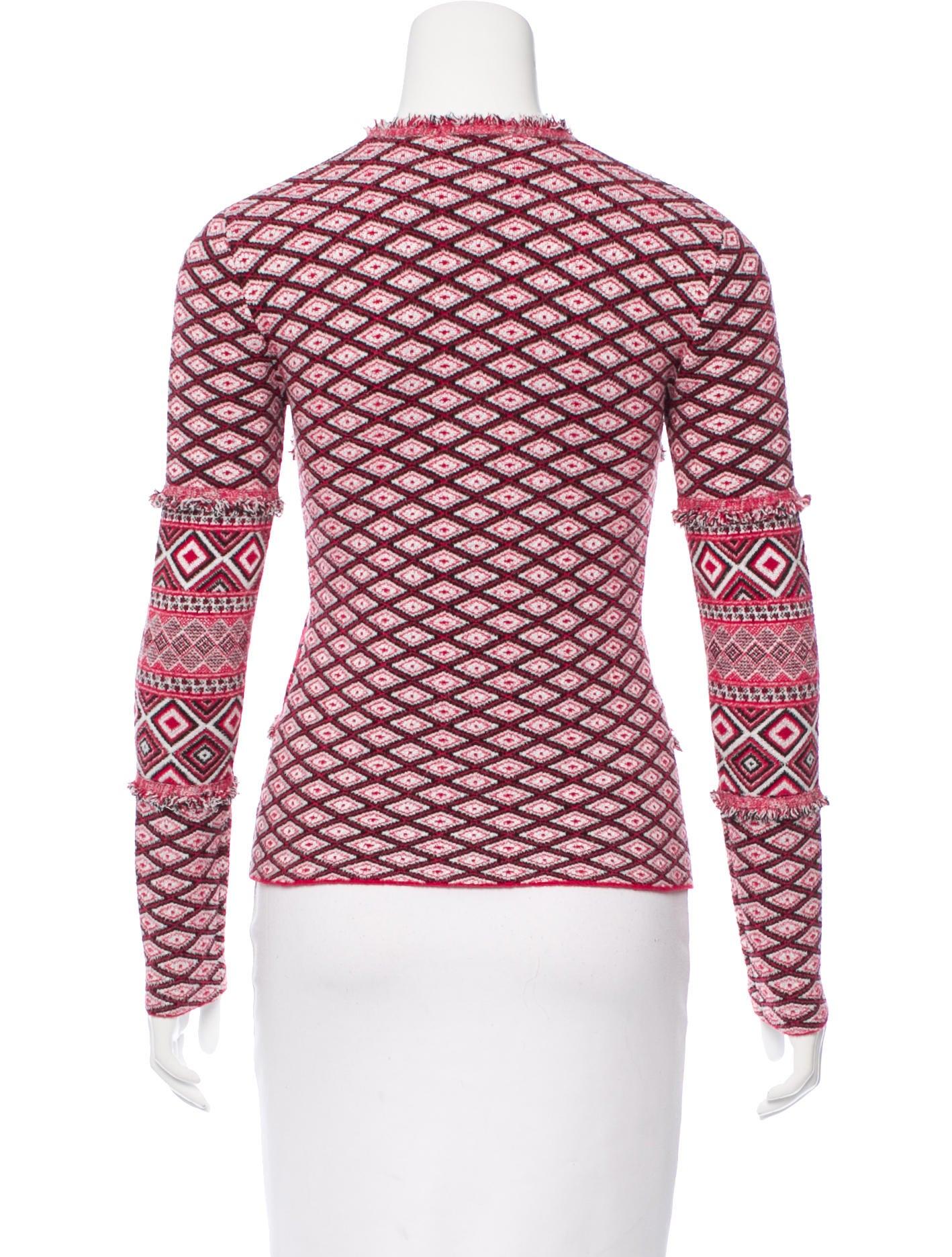 Altuzarra Rey Jacquard Sweater - Clothing