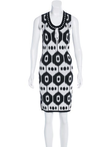 Altuzarra Jacquard Bodycon Dress None