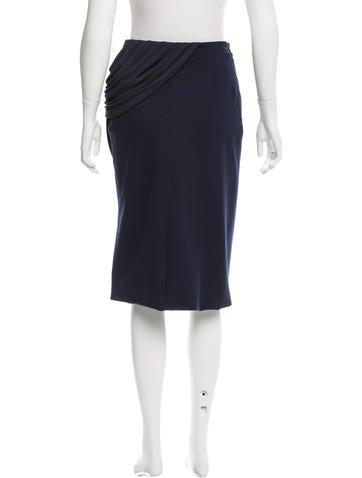 altuzarra draped pencil skirt w tags clothing
