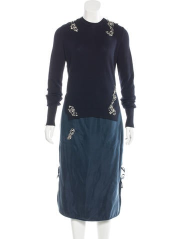 Altuzarra Willow Embellished Dress None