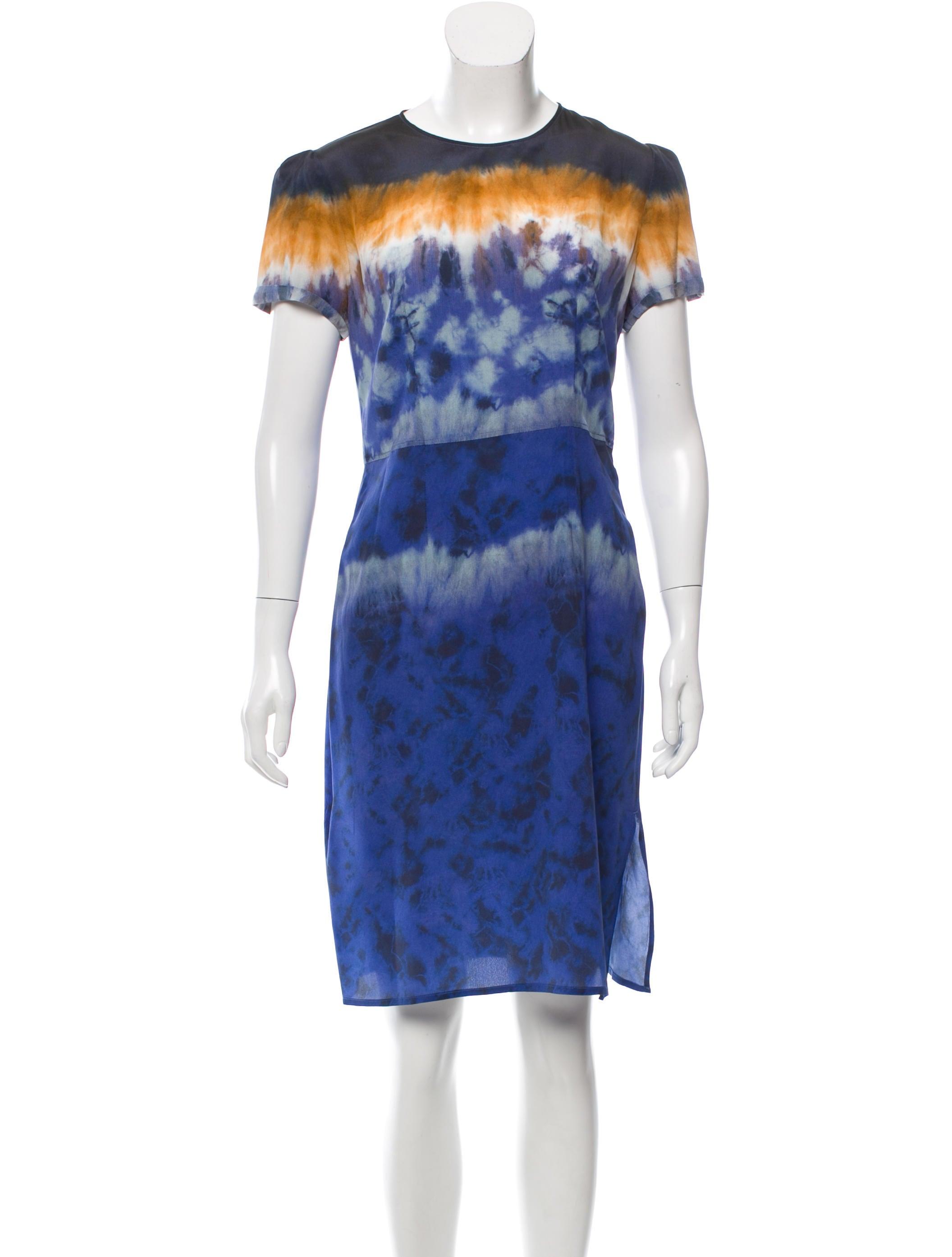 Altuzarra silk tie dye printed dress clothing alt21761 for Tie dye printed shirts