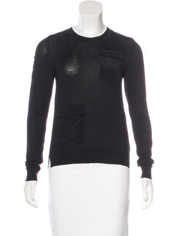 Altuzarra Wool Silk-Trimmed Sweater w/ Tags None