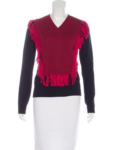 Altuzarra Wool Fringe-Trimmed Sweater None