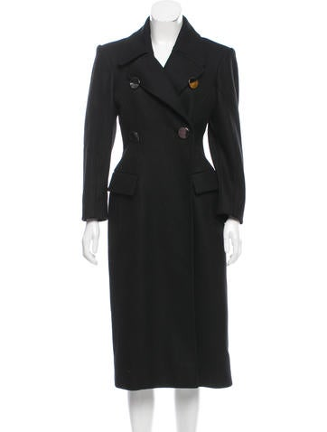 Altuzarra Double-Breasted Wool Coat None