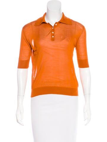 Altuzarra Short Sleeve Button-Up Top None