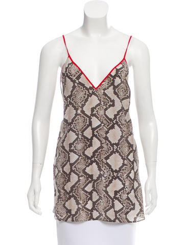 Altuzarra Sleeveless Silk Top w/ Tags None