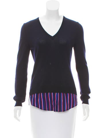 Altuzarra Layered Wool Sweater None