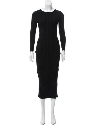 Altuzarra Rib Knit Bodycon Dress None