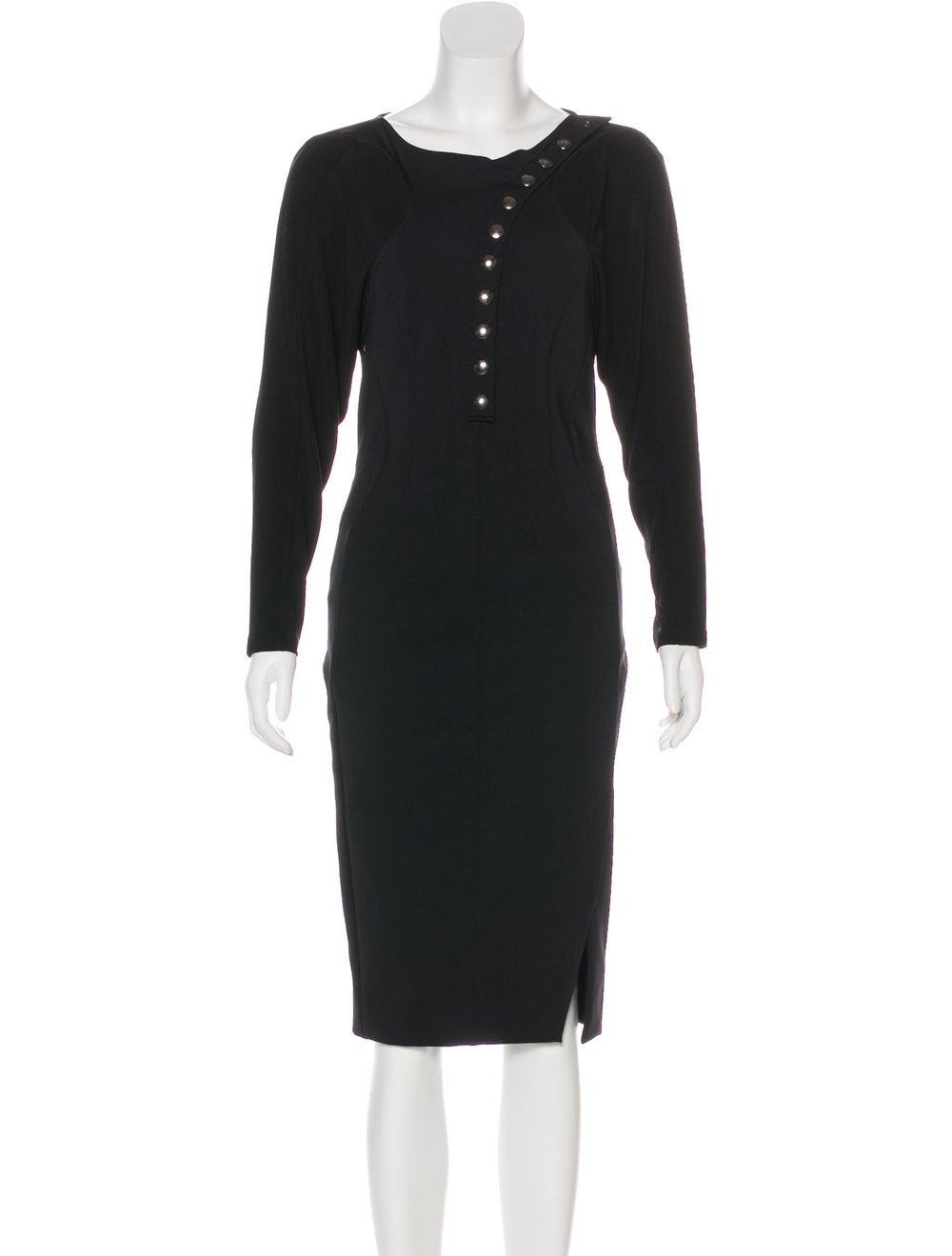 Altuzarra Embellished Midi Dress Black - image 1