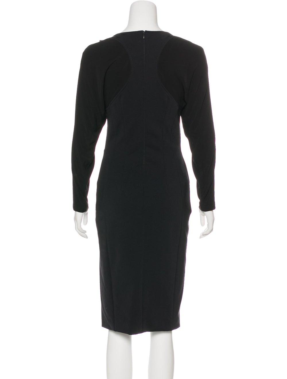 Altuzarra Embellished Midi Dress Black - image 3