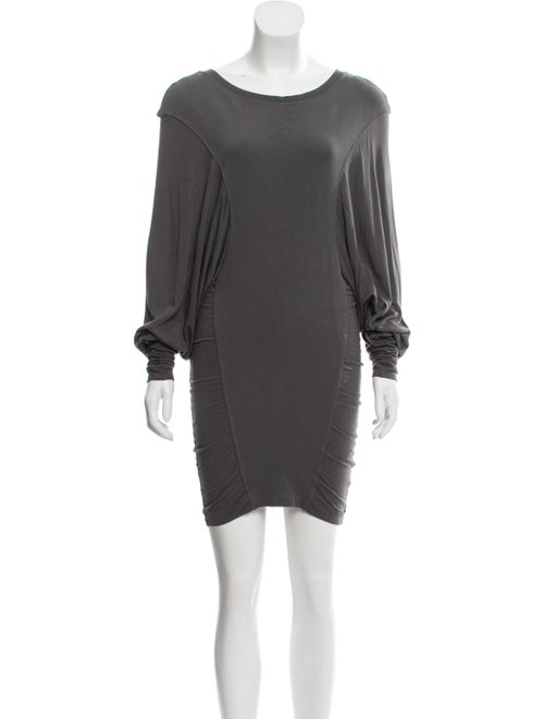 Altuzarra Dolman Sleeve Knit Dress Grey