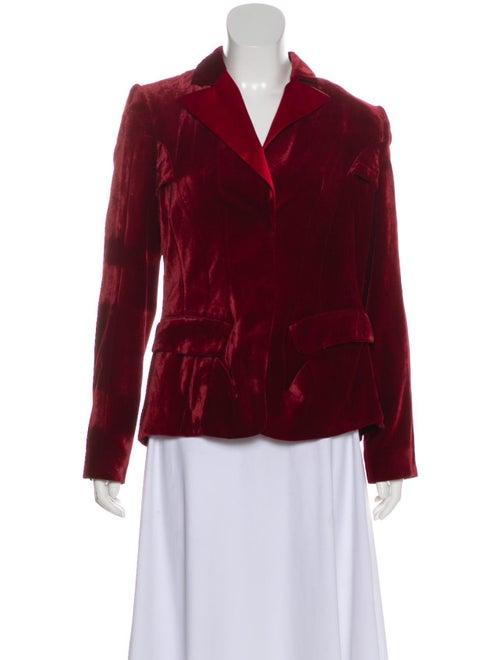 Altuzarra Lightweight Velvet Jacket