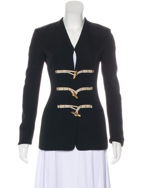 Altuzarra Collarless Structured Blazer Black