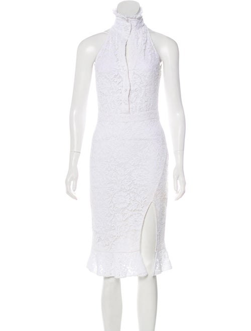 Altuzarra Sleeveless Midi Dress White