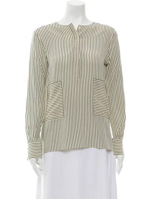 Altuzarra Silk Striped Blouse
