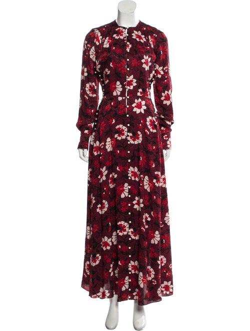Altuzarra Printed Maxi Dress multicolor