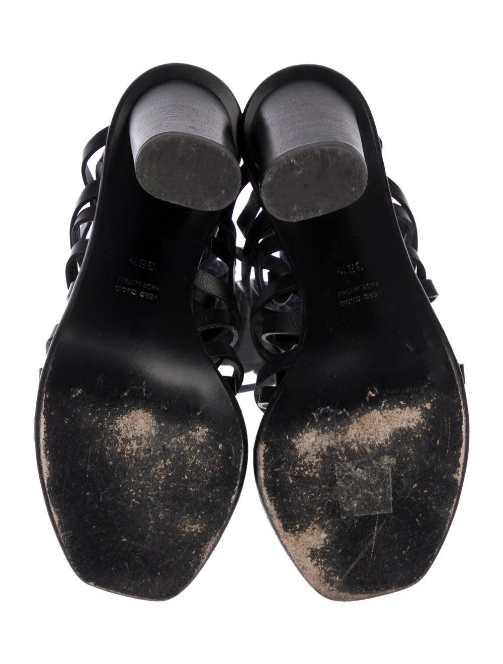 Altuzarra Caged Lace-Up Sandals Black - image 5