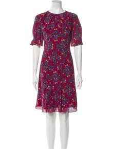 Altuzarra Silk Knee-Length Dress