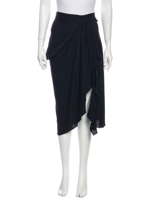 Altuzarra Midi Length Skirt Black - image 1