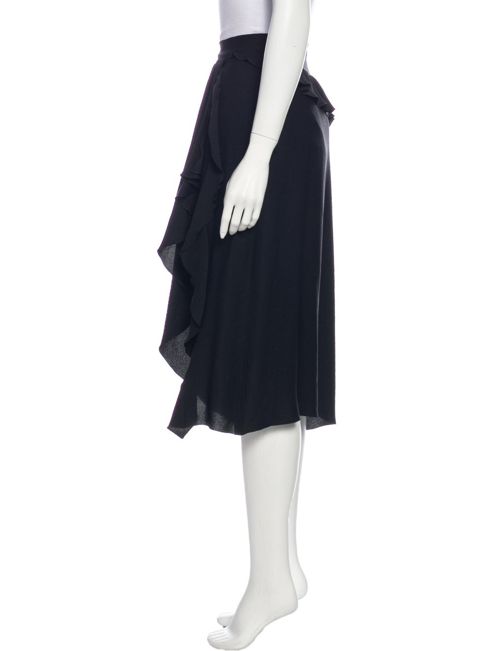 Altuzarra Midi Length Skirt Black - image 2