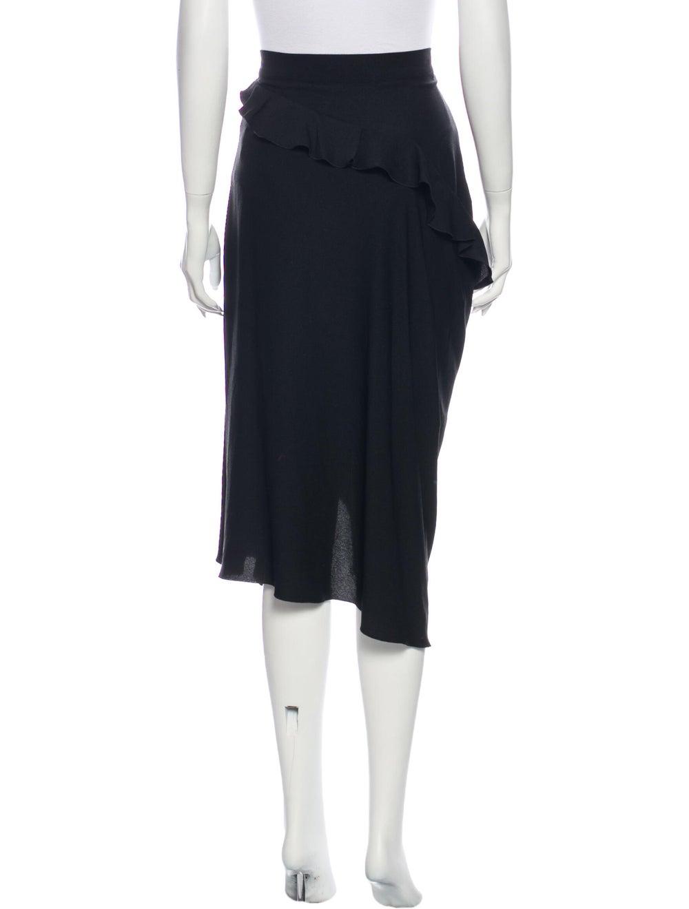 Altuzarra Midi Length Skirt Black - image 3