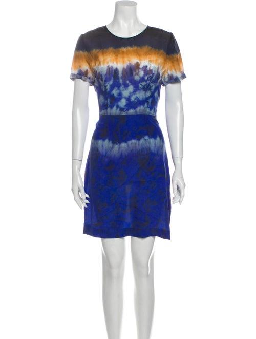 Altuzarra Tie-Dye Print Mini Dress
