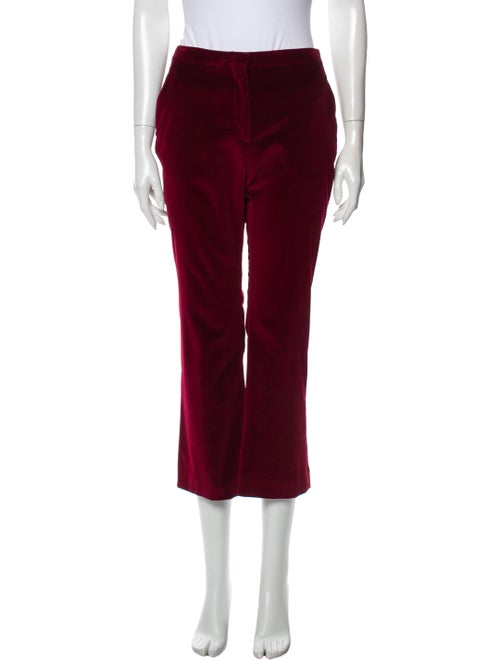 Altuzarra Wide Leg Pants Red