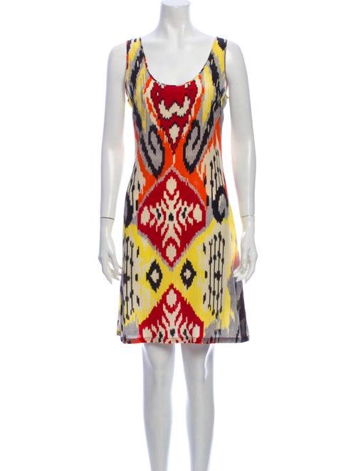 Altuzarra Silk Mini Dress Orange