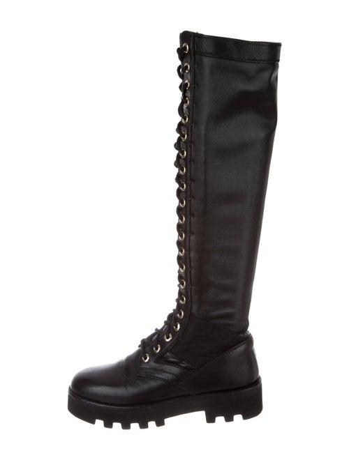 Altuzarra Leather Combat Boots Black - image 1
