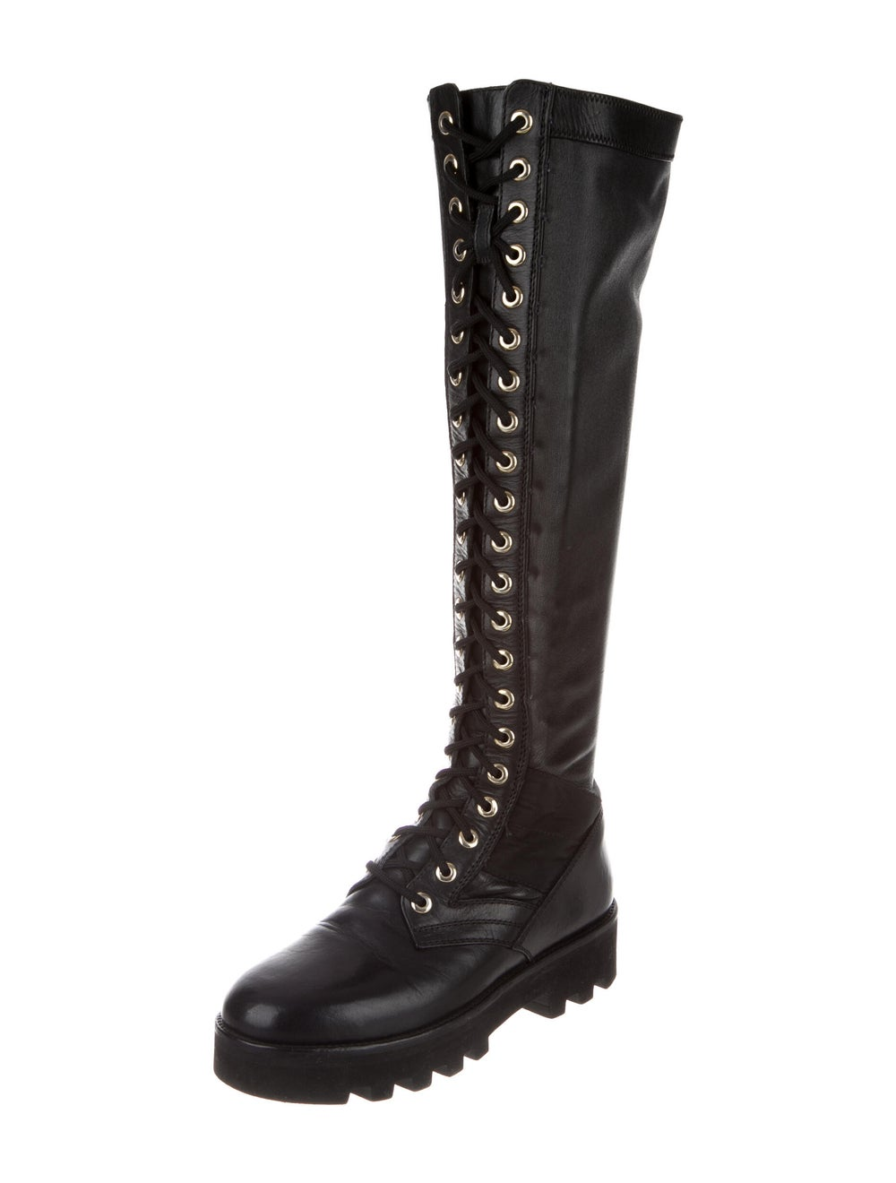 Altuzarra Leather Combat Boots Black - image 2