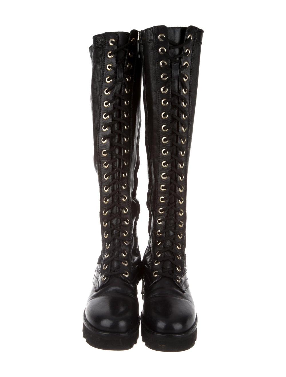 Altuzarra Leather Combat Boots Black - image 3