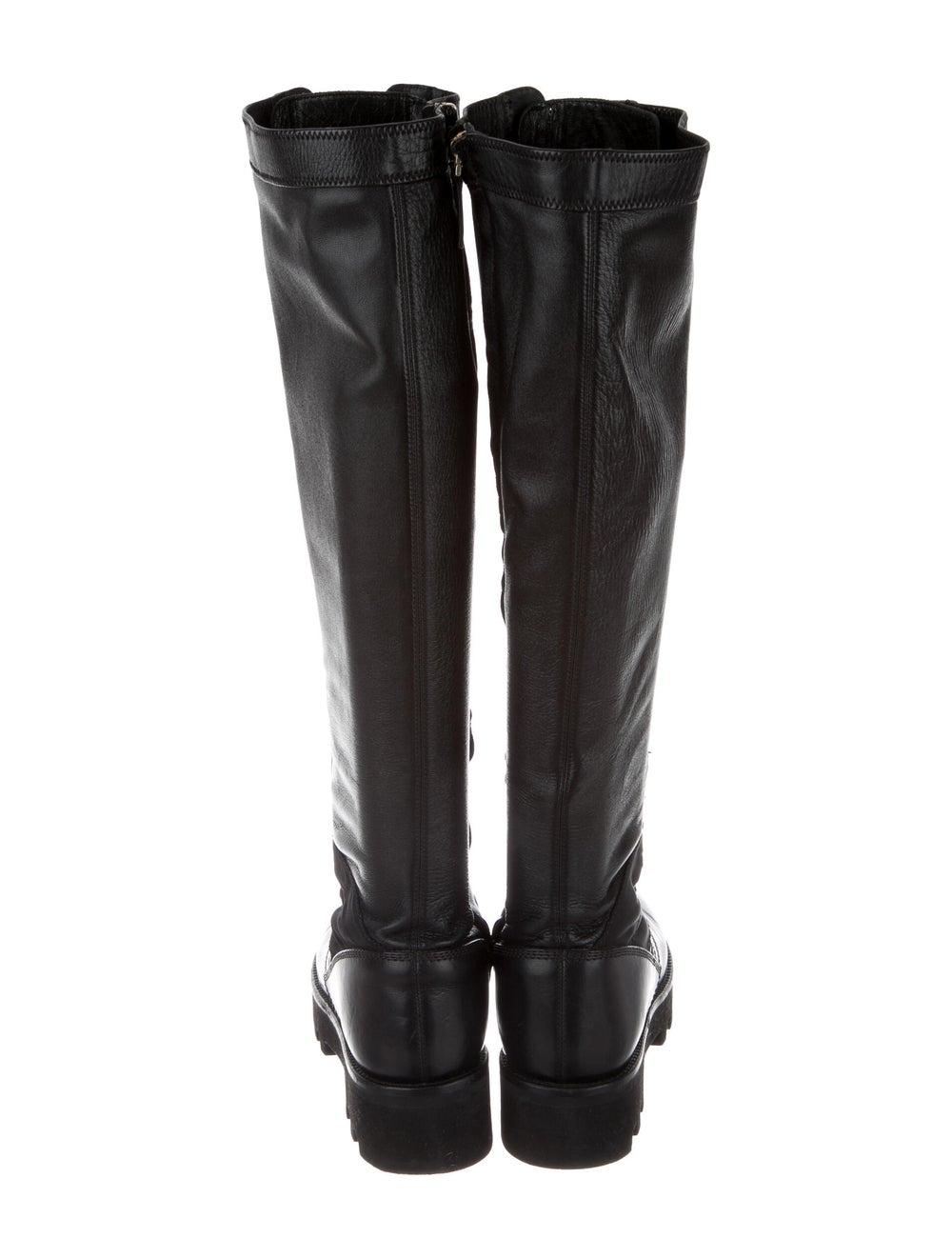 Altuzarra Leather Combat Boots Black - image 4