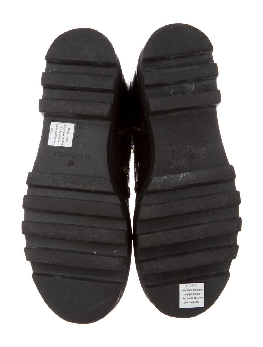 Altuzarra Leather Combat Boots Black - image 5