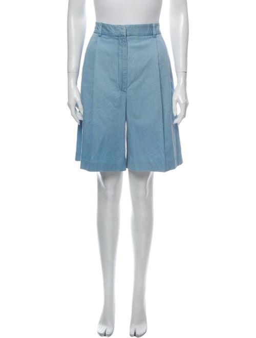 Altuzarra Knee-Length Shorts Blue