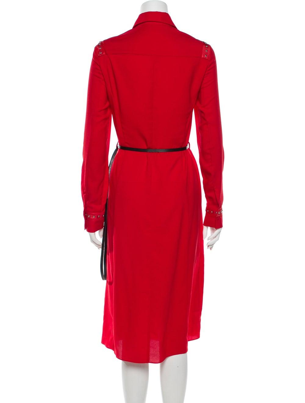 Altuzarra Midi Length Dress Red - image 3