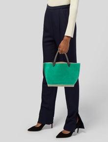 Altuzarra Suede Handle Bag