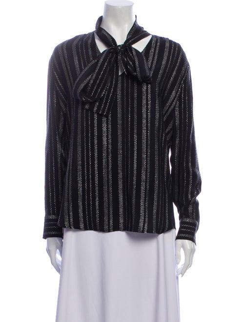 Altuzarra Silk Striped Blouse w/ Tags