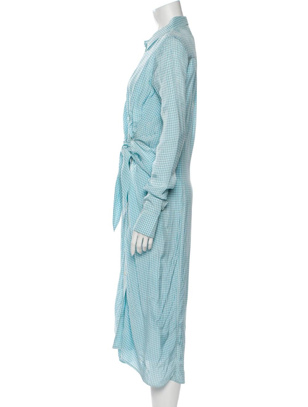 Altuzarra Midi Length Dress Blue - image 2