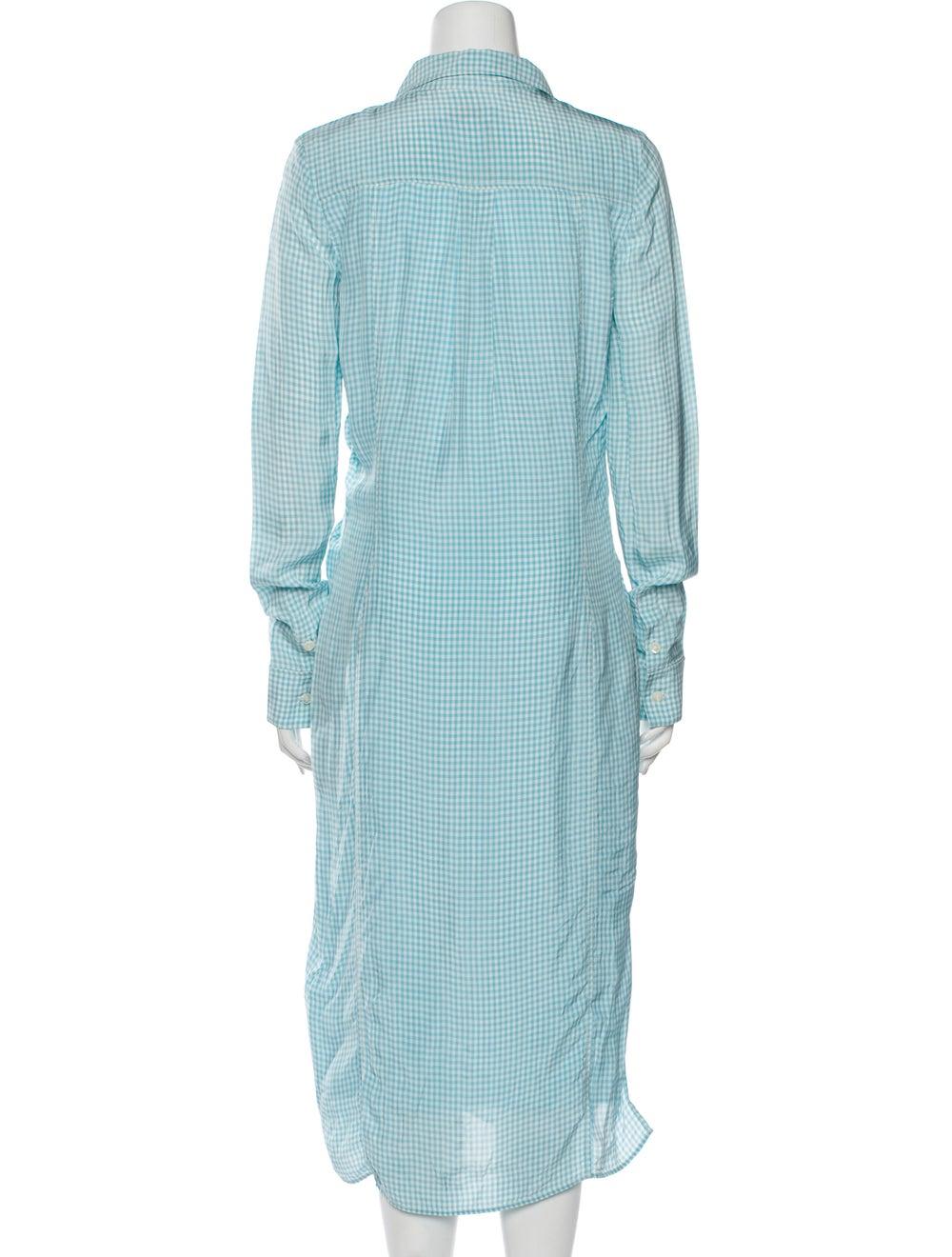 Altuzarra Midi Length Dress Blue - image 3