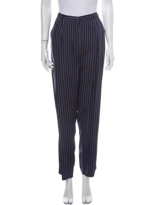 Altuzarra Striped Wide Leg Pants Blue