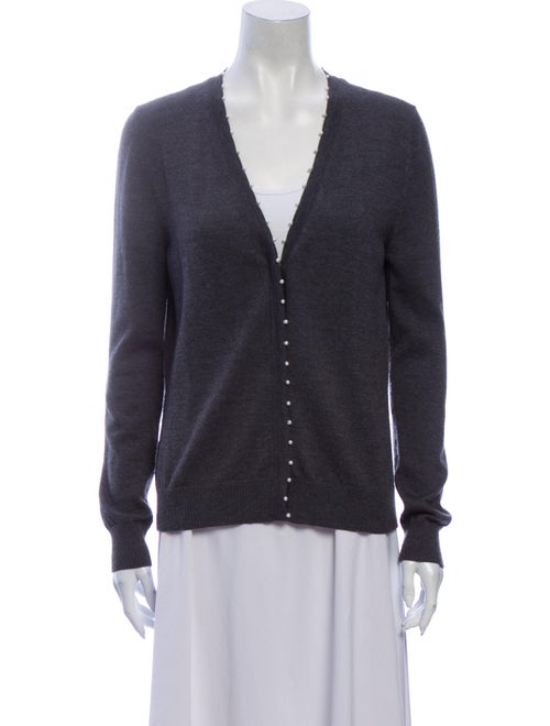 Altuzarra Merino Wool V-Neck Sweater Wool