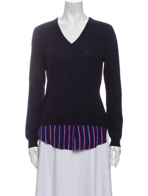 Altuzarra Merino Wool Striped Sweater Wool