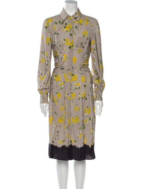 Altuzarra Silk Midi Length Dress - image 1