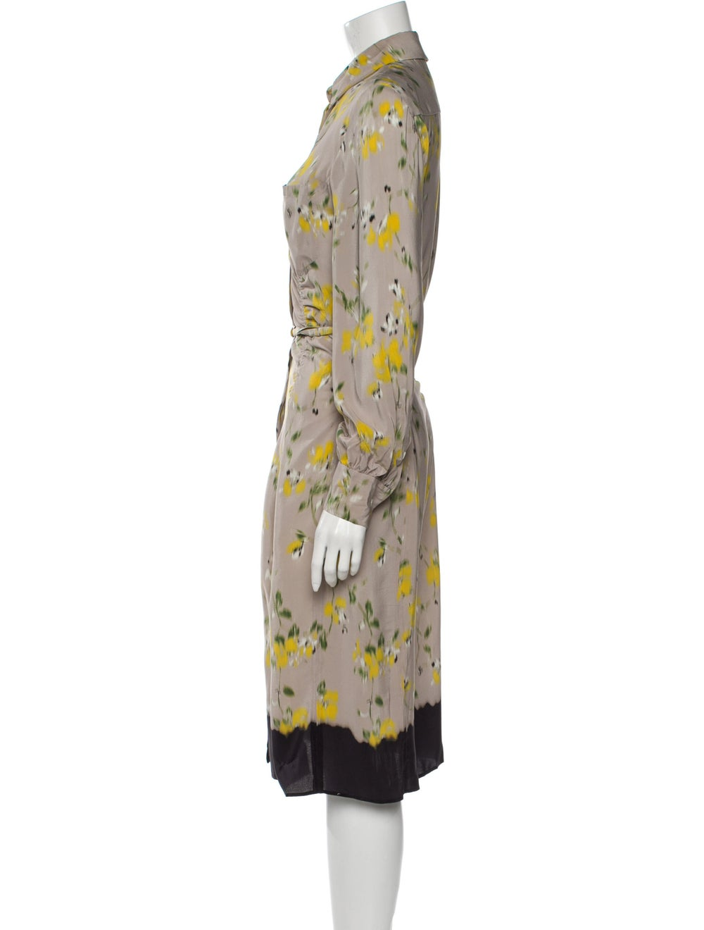 Altuzarra Silk Midi Length Dress - image 2
