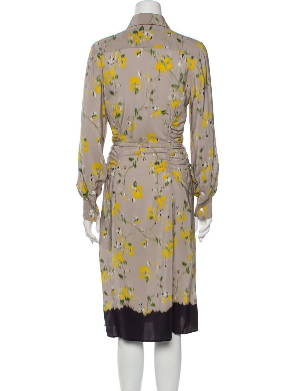 Altuzarra Silk Midi Length Dress - image 3