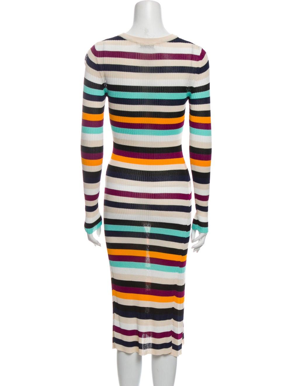 Altuzarra Striped Midi Length Dress - image 3