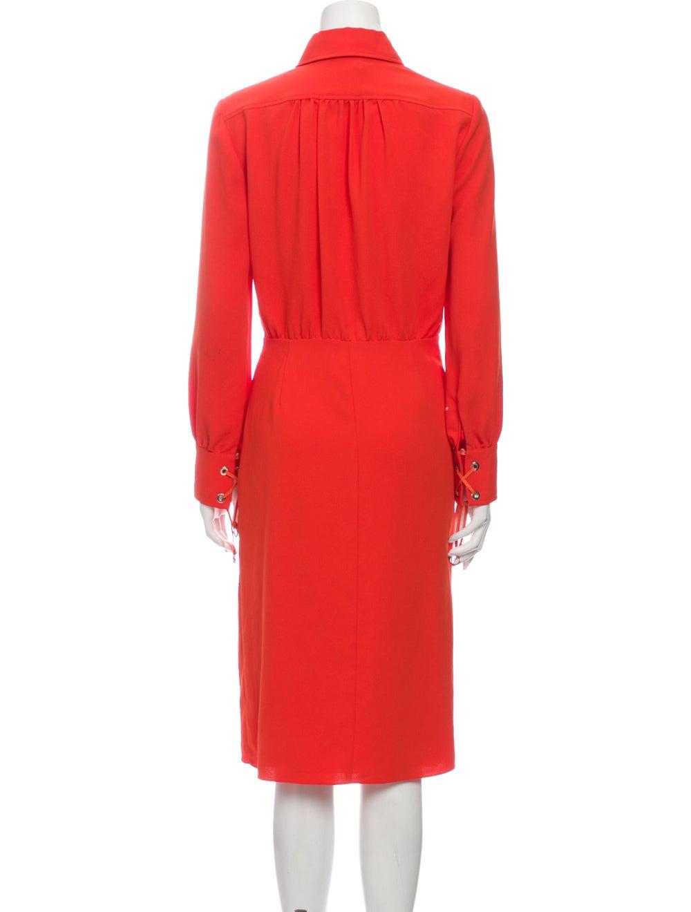 Altuzarra Midi Length Dress Orange - image 3