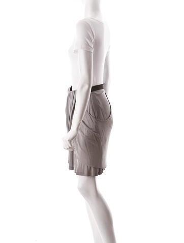 Draped Skirt